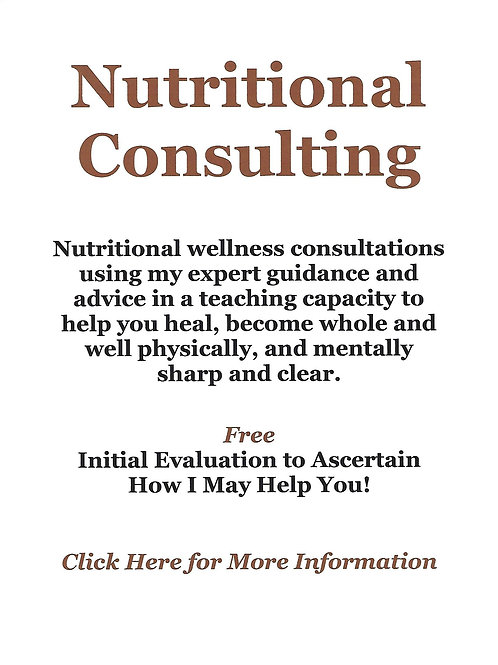 Nutritional Consulting