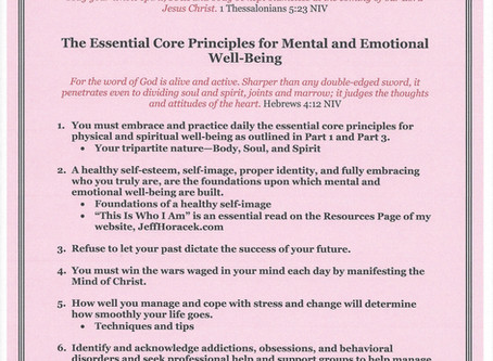 Outline for Life - Mental and Emotional Well-Being
