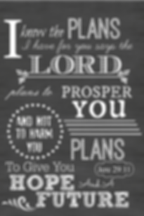 God has a plan for you - Jeremiah 29:11