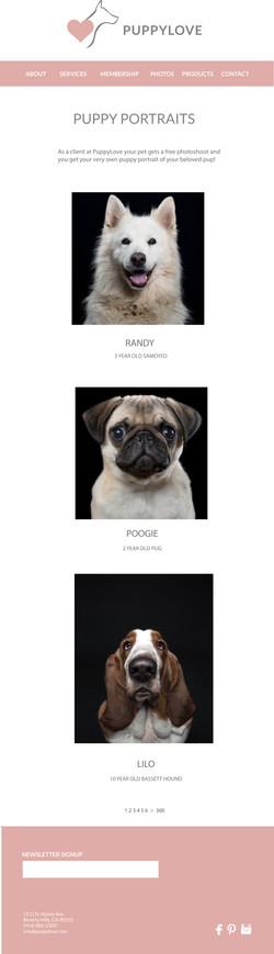 PuppyLove Website