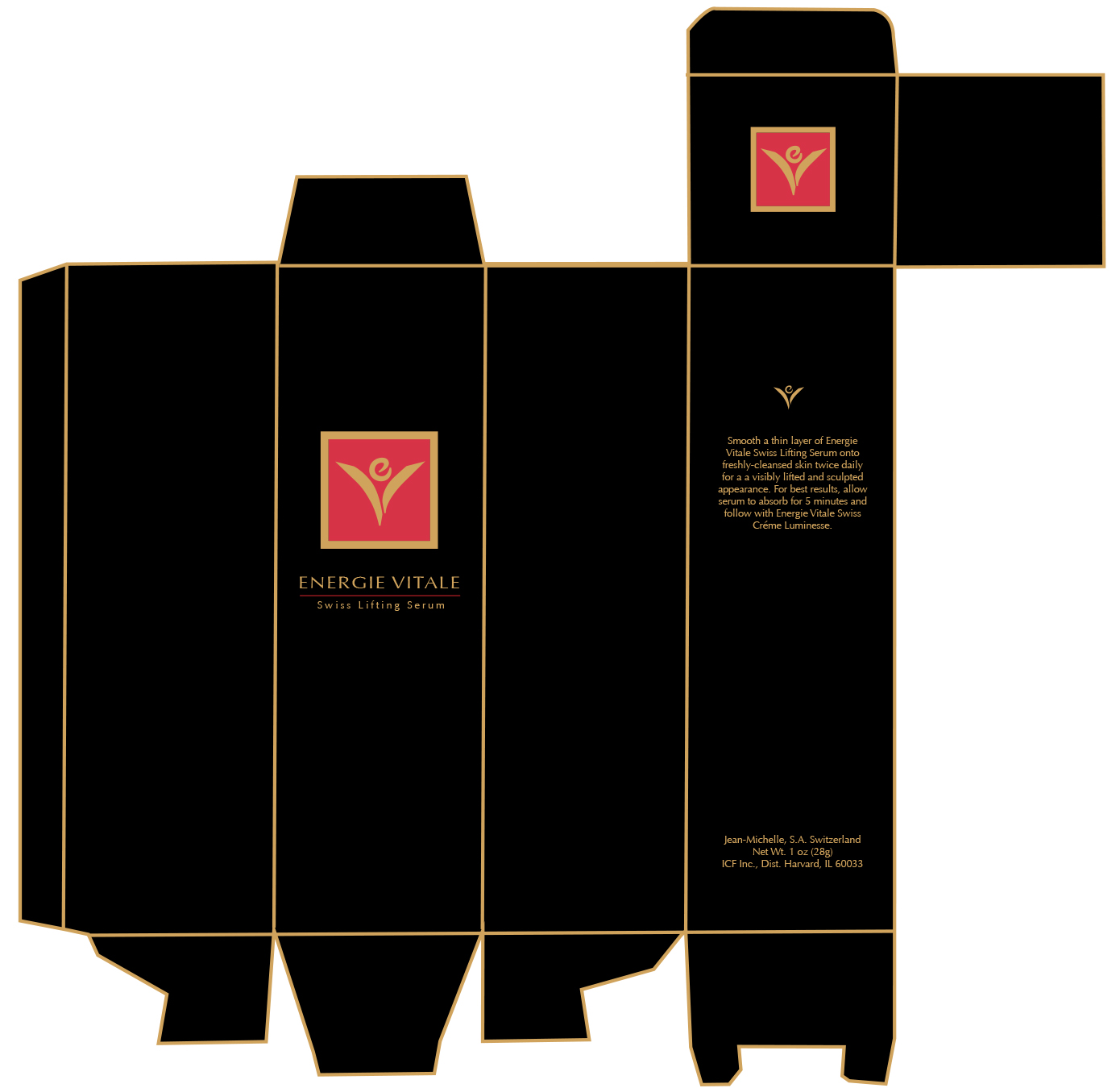 Enérgie Vitale Serum Packaging