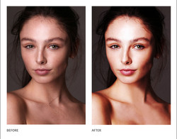 MODEL BEFORE AFTER