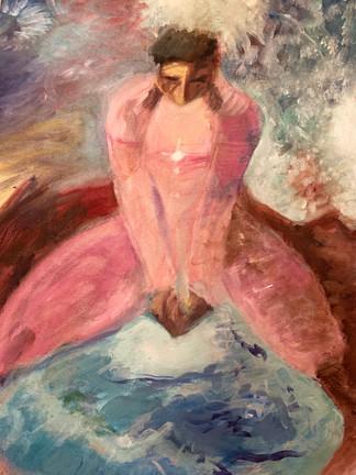 Meditation (Oil on Canvas, 2018)