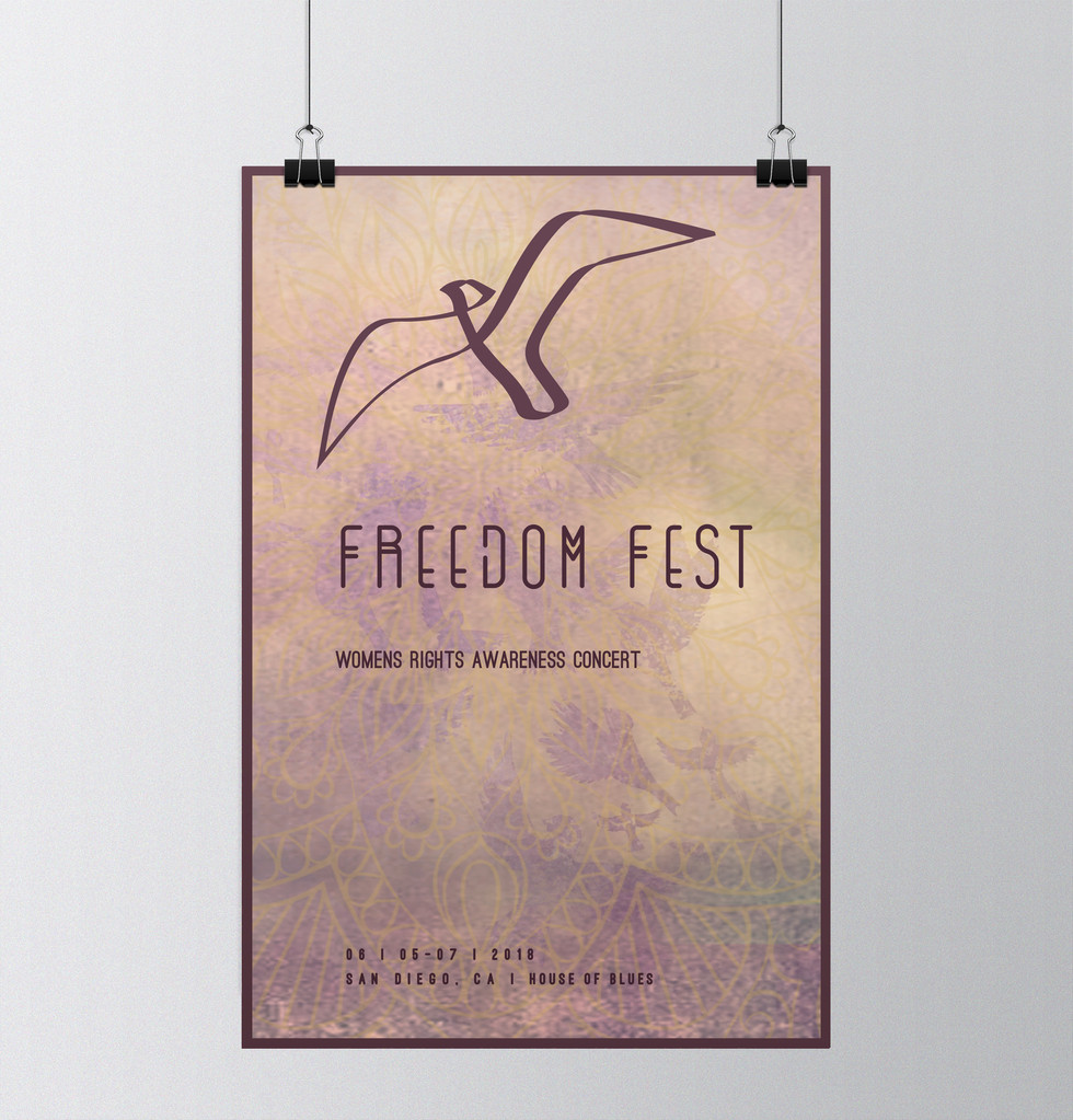 Freedom Fest Poster Design