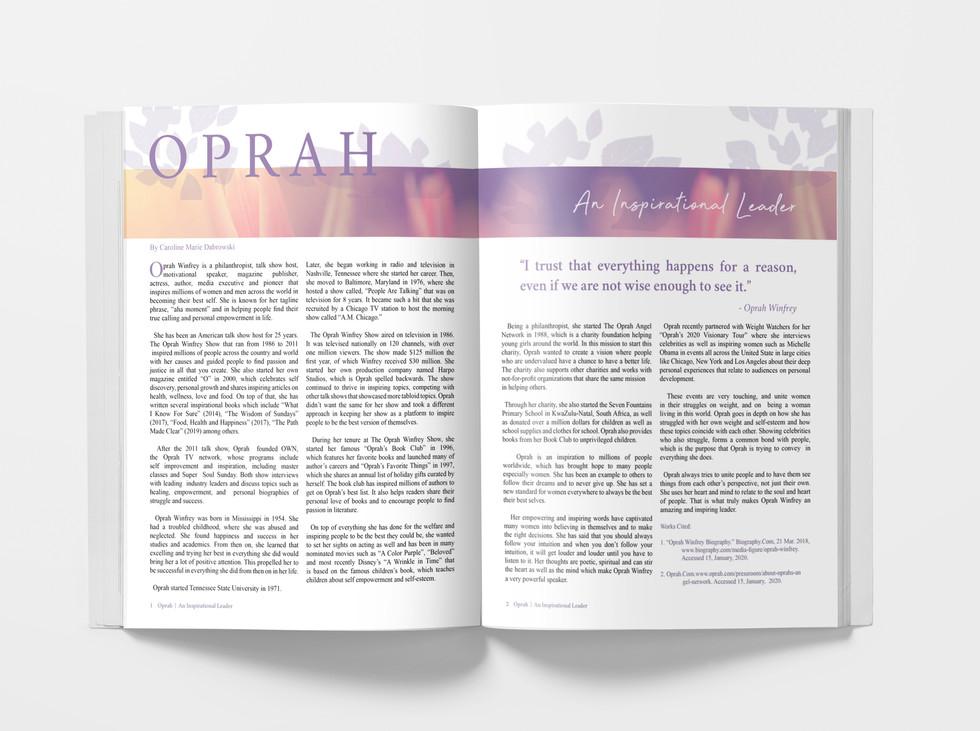 Oprah Editorial