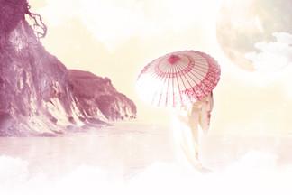 The Geisha - Digital Art