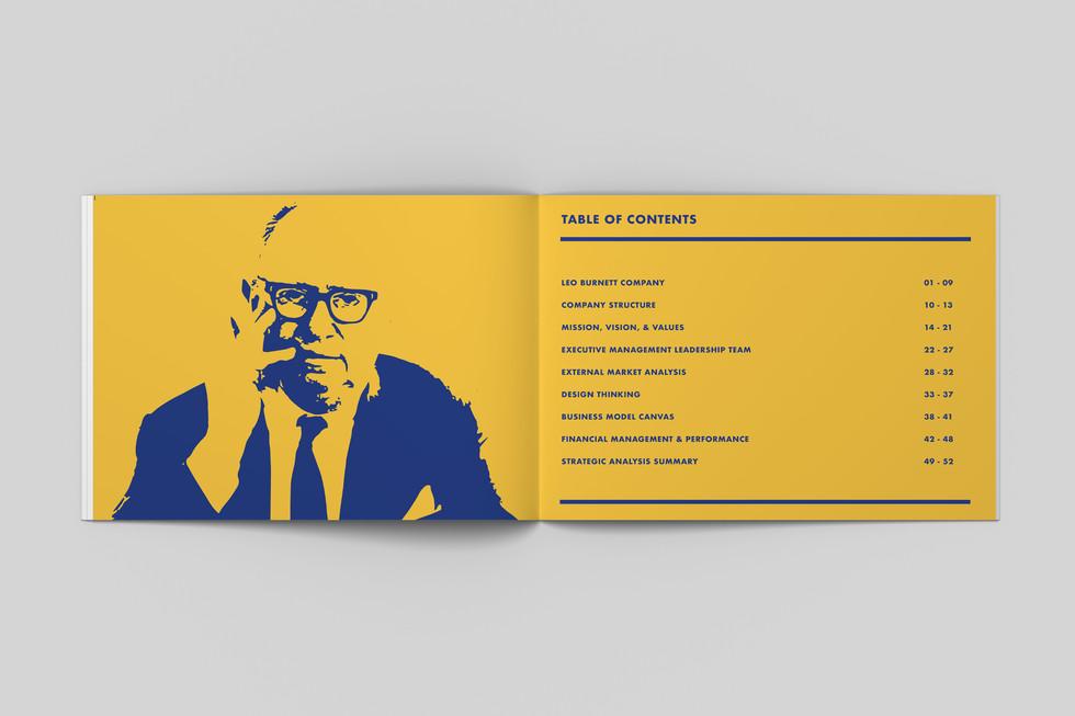 Leo Burnett Editorial Design