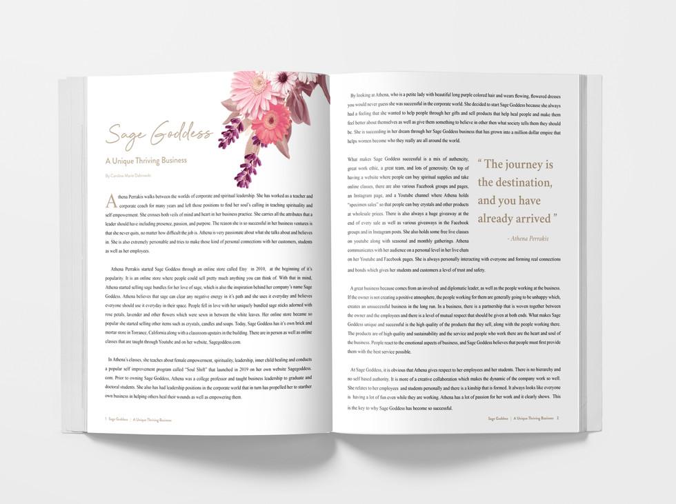 Sage Goddess Editorial