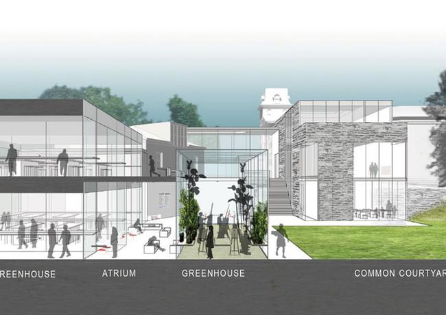 6 woodmere art museum master plan by mat