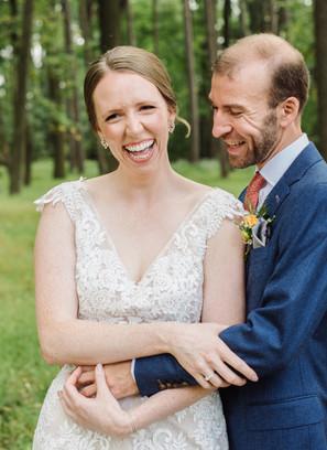 Rock Climbers' wedding