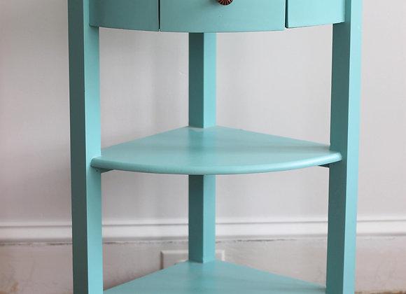 Aqua corner table
