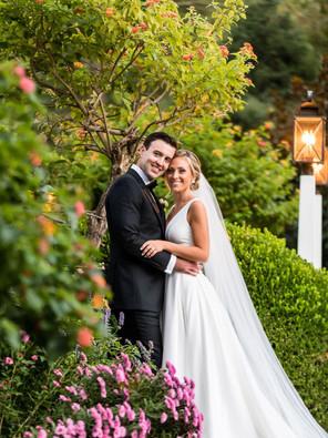 Modern estate wedding