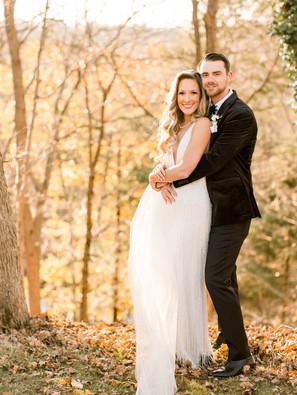 Dreamy fall garden wedding