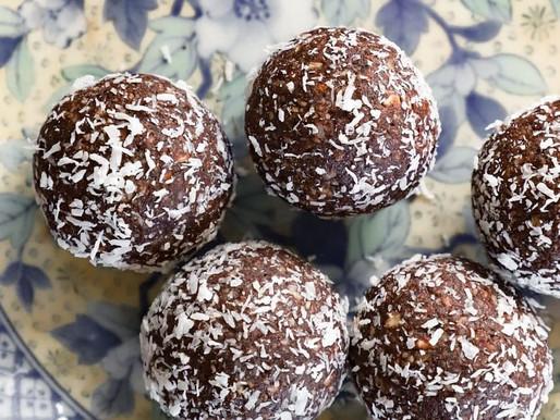 No Bake Choc- Coconut Balls
