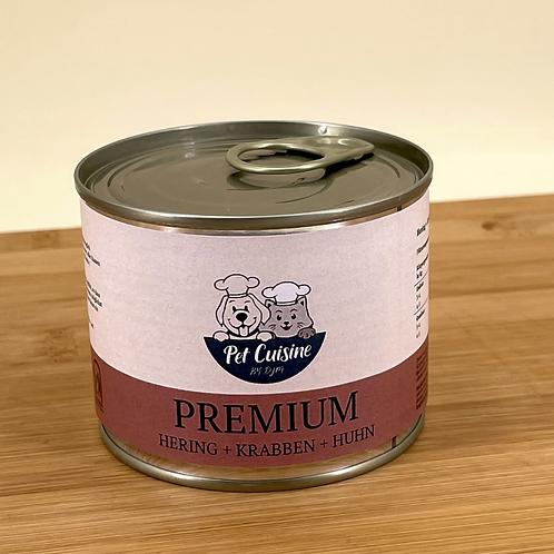 Premium Hering & Krabben & Huhn