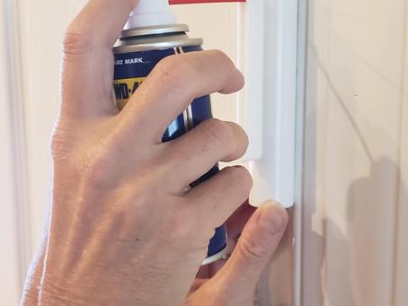 How to Stop Squeaky Door Hinges