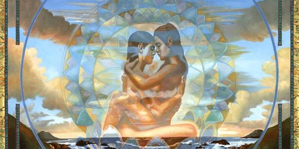 Méditation entre couples.