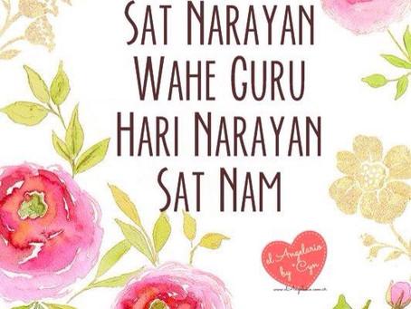 Meditation pour la paix, Sat Narayan.