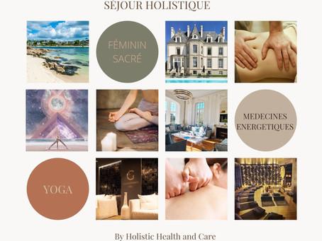 Séjour holistique en Bretagne du 30 avril au 3 mai 2021.
