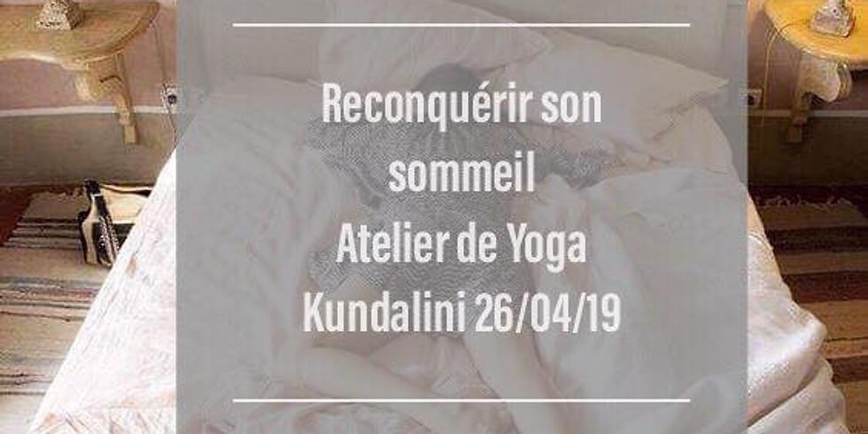 Reconquérir votre sommeil avec le yoga kundalini