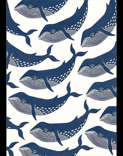 Keep On Swimming - Art Print