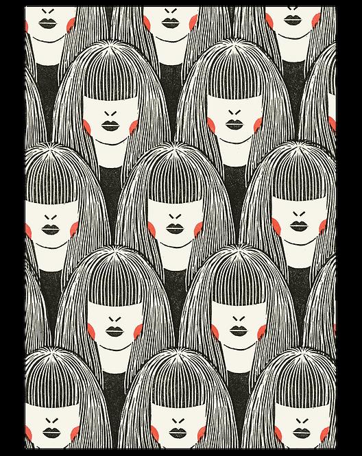 Lady Pattern/ Introspective