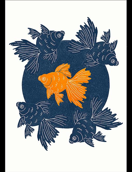 Fishbowl - Art Print
