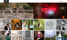 malanis.com This is a website for a wedding photographer. For ...