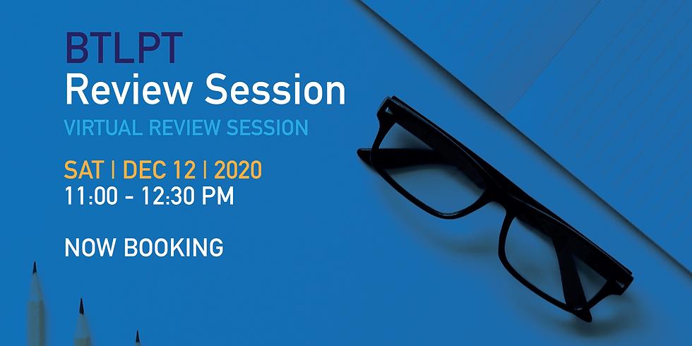 BTLPT Review Session