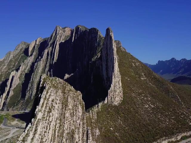 Video Aéreo La Huasteca, Monterrey NL.
