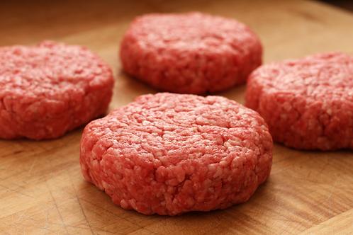 Beef Hamburger Patties- 1 pound