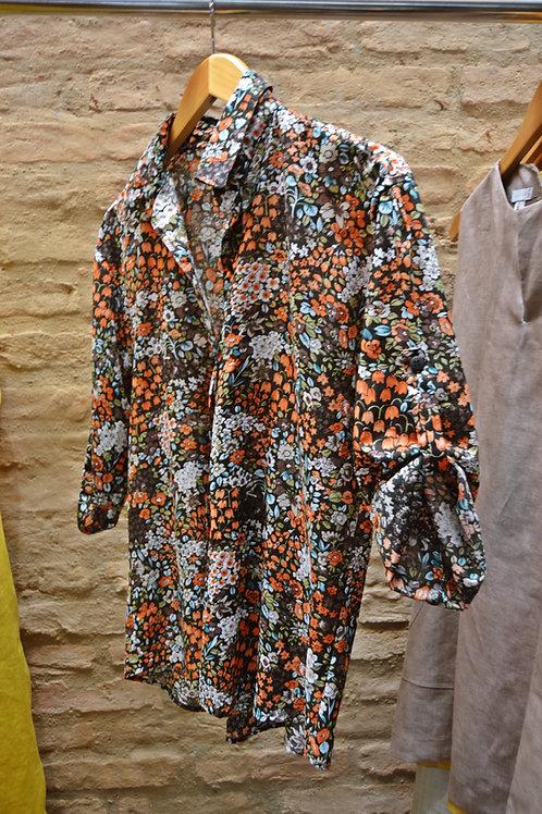 Camisa Algodão Florido