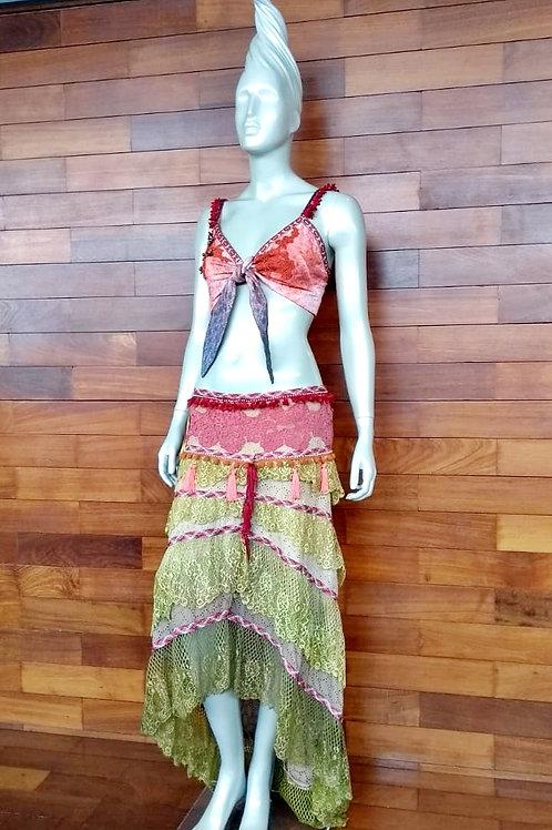 Saia Boho - Modelo Vestido Gipsy