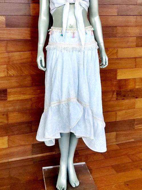 Vestido Branco linha Boho