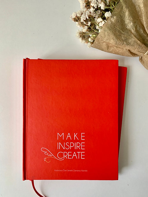 MAKE INSPIRE CREATE AJANDA