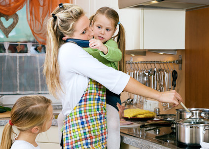 """""""Stay-at-Home Mom"""" is also a Full-Time Job"""