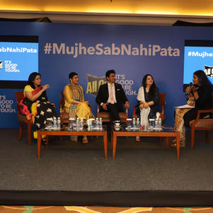 "Panel Discussion for All Out India  ""...It takes a tough mom to accept #MujheSabNahiPata"""