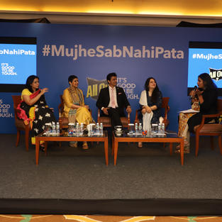 """Panel Discussion for All Out India  """"...It takes a tough mom to accept #MujheSabNahiPata"""""""