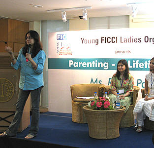 Parenting Workshop for YFLO Kolkatta