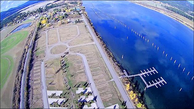 Aerial Shot of Eagle's Landing
