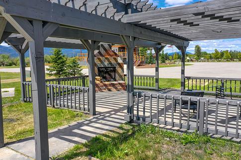 Eagle's Landing RV Resort's Fireplace