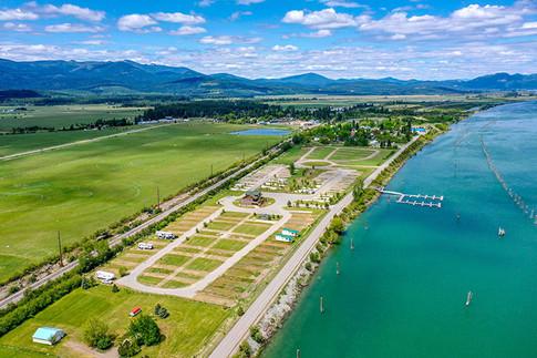 Eagle's Landing RV Resort Aerial View