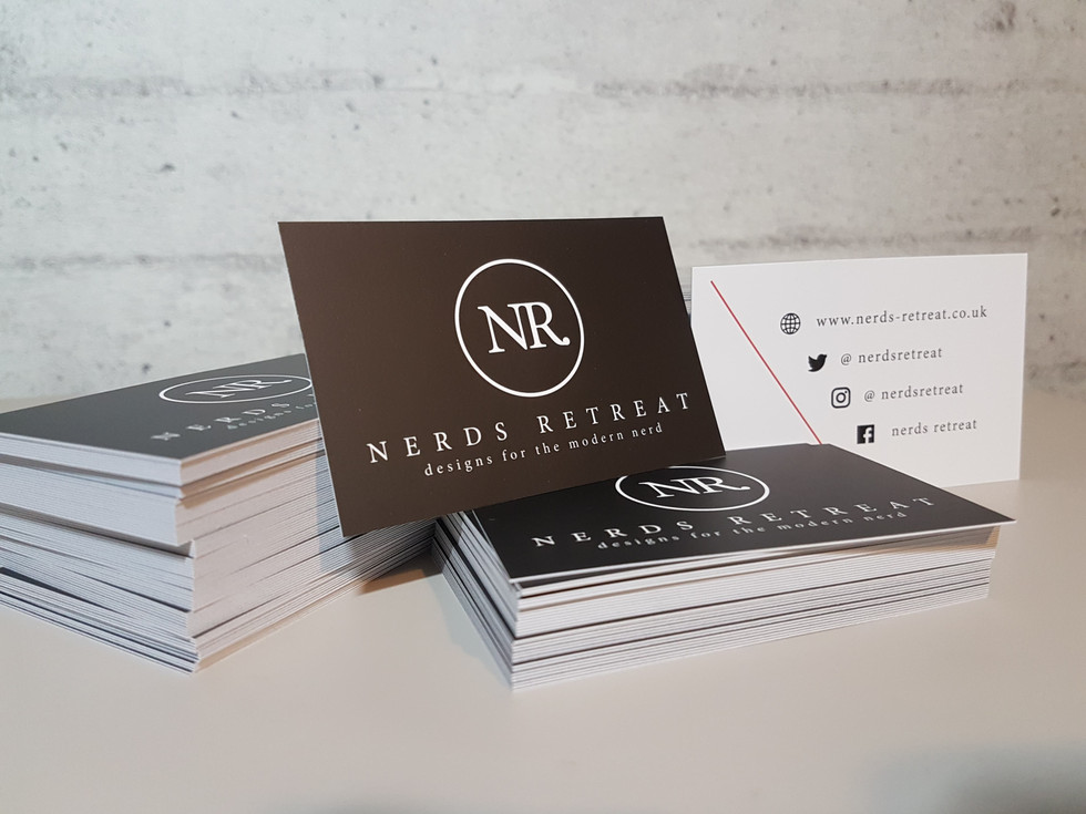Nerds Retreat Business Cards