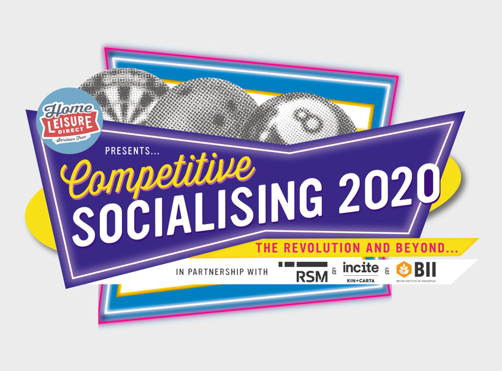 Competitive Socialising Event Logo
