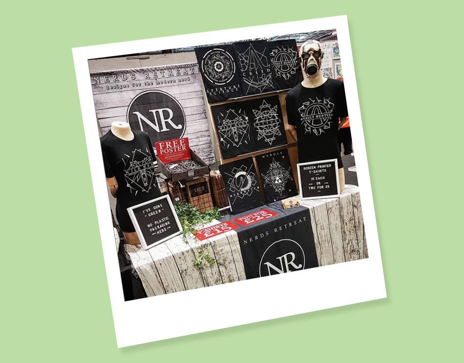 Nerds Retreat Exhibition Stalls