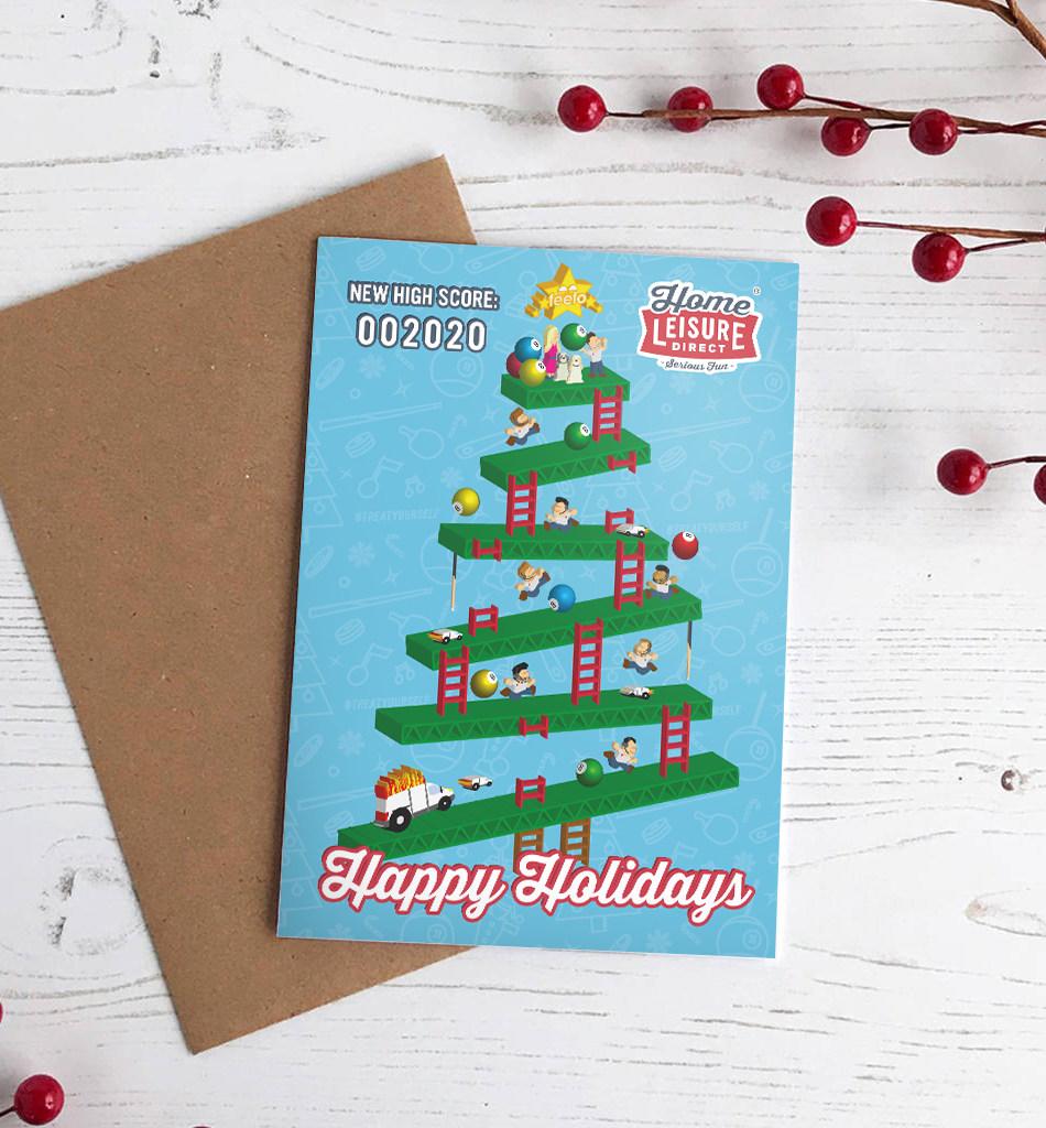 Physical Media: Corporate Christmas Card