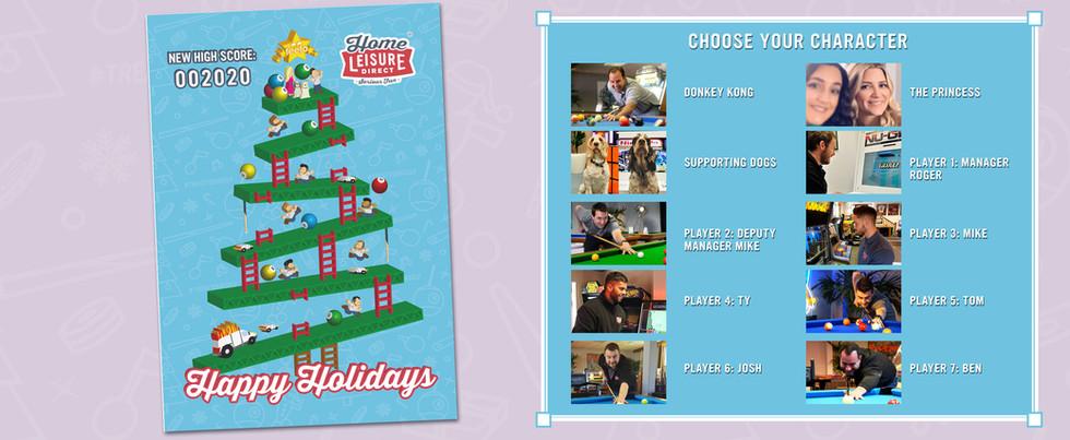 Christmas Card Player Selection Image