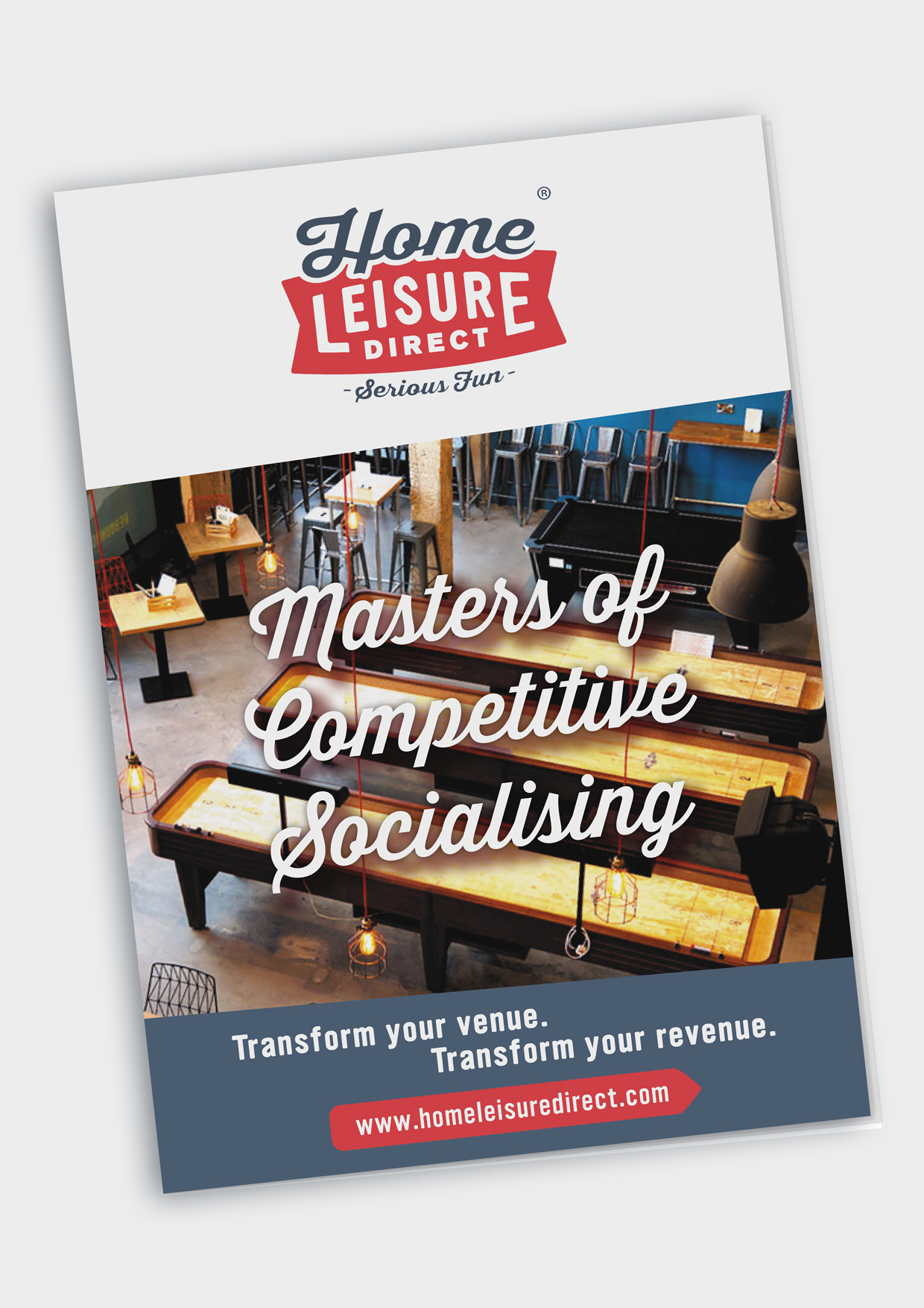 Competitive Socialising Product Brochure