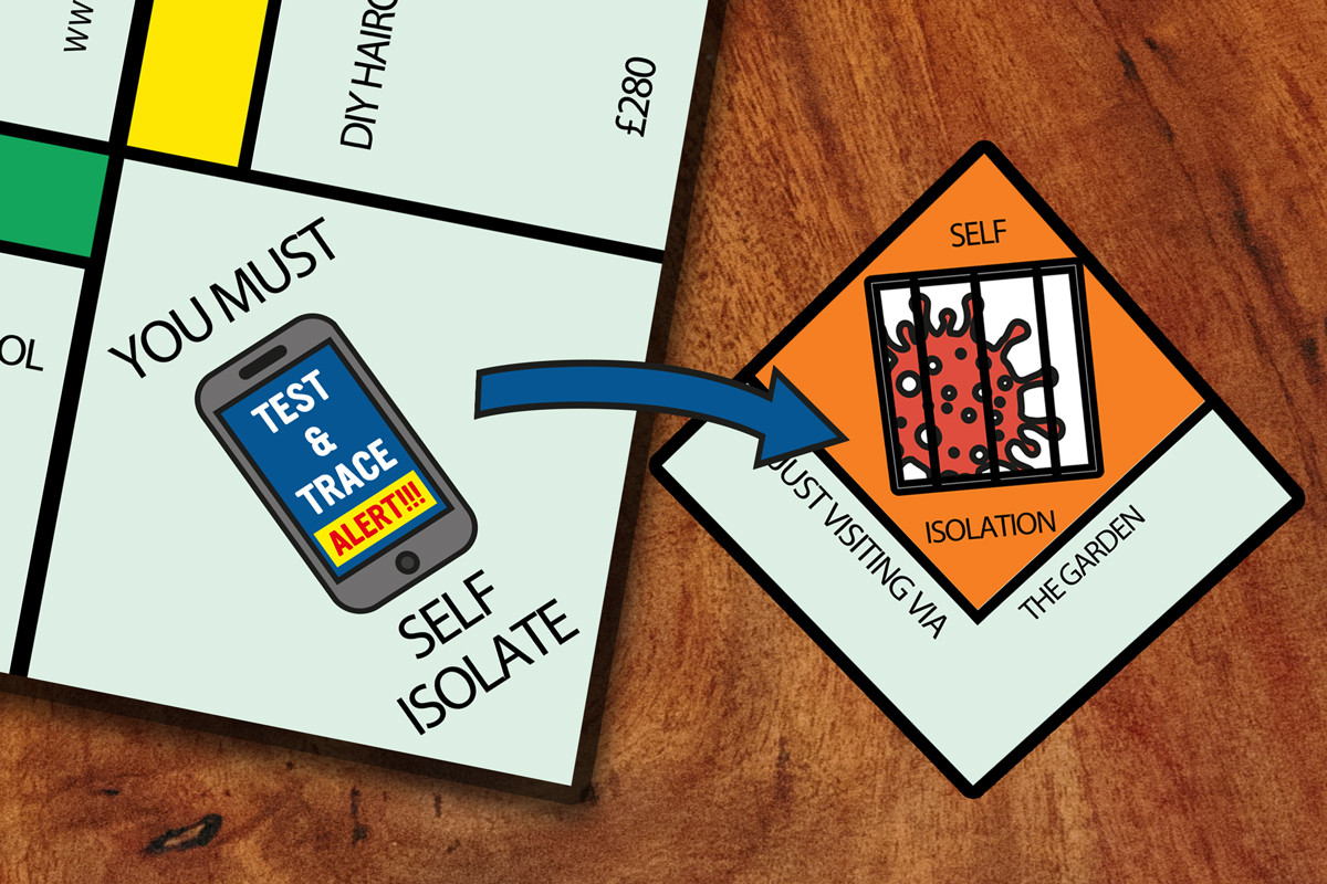 Promotional Shot Two: You Must Self Isolate Squares Close-Up