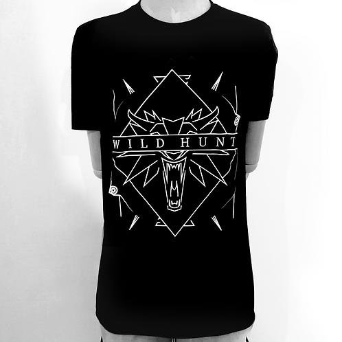 Witcher Inspired Geometric Tee
